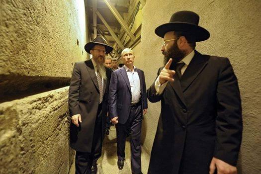حقيقة زيارة بوتين لأعمال هيكل اليهود