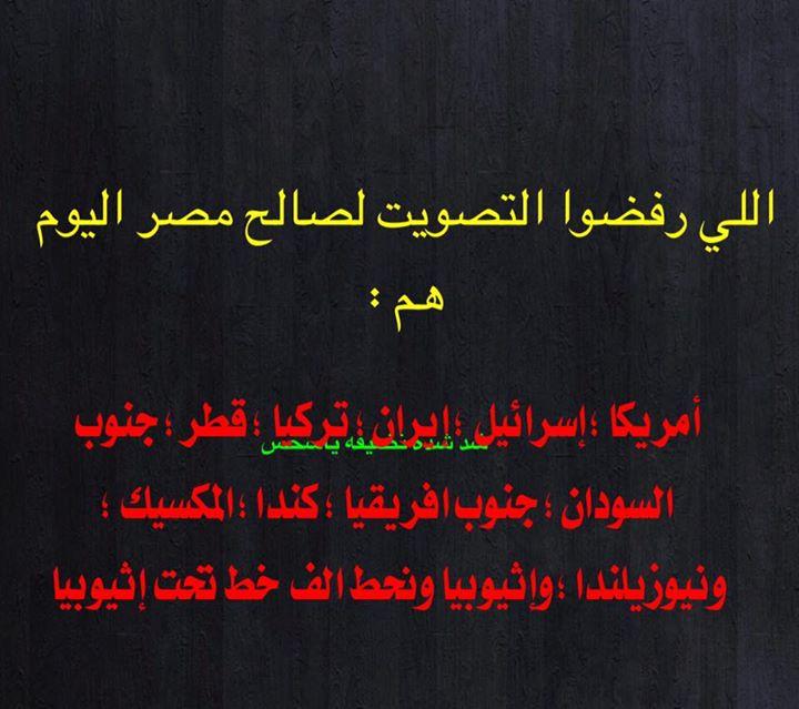 حقيقة الدول اللي رفضت التصويت لمصر في مجلس الأمن