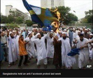 حقيقة مظاهرات لاجئين في السويد