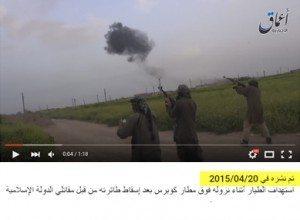حقيقة فيديو لحظة قتل الطيار الروسي في أحداث : روسيا-تركيا .