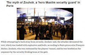 حقيقة زهير الشاب المسلم اللي أنقذ جماهير استاد فرنسا