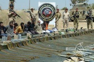حقيقة ضبط الجيش أسلحة في سيناء