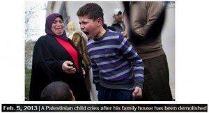 حقيقة صورة طفل من سوريا دمر بيته و فقد اهله
