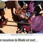 حقيقة صورة ذبح مسلم في افريقيا الوسطى