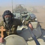 حقيقة جندي روسي يحمل الصليب في سوريا