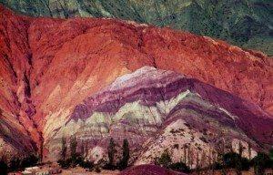 حقيقة صورة ألوان الجبال في سيناء .