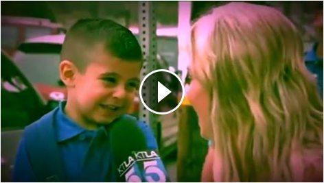 حقيقة بكاء طفل عند سؤاله هل سيشتاق لامه.