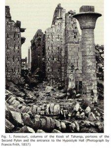 حقيقة تخريب معبد الكرنك وترميمه بطريقة غلط