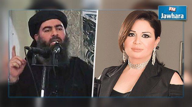 إلهام-شاهين--سأتزوج-من-يقتل-أبو-بكر-البغدادي