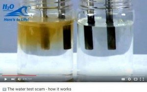 حقيقة جودة مياه الشرب عن طريق أملاحها والتحليل الكهربي ليها