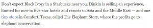 حقيقة استخدام ستاربكس فضلات وروث الفيلة في القهوة