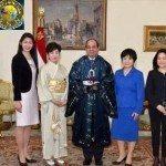 حقيقة ارتداء الرئيس عبد الفتاح السيسي للزي الياباني