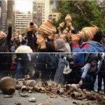 حقيقة كسر القلل في وداع الزند قدام وزارة العدل