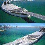 حقيقة صور مشروع جسر الملك سلمان.
