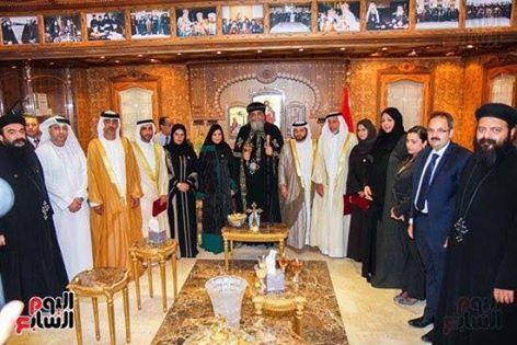 حقيقة زيارة الوفد السعودي للبابا في الكاتدرائية