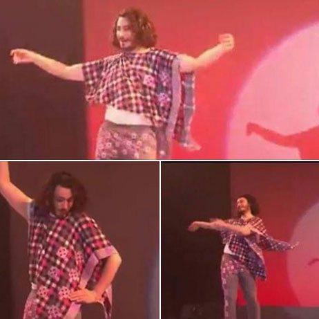 حقيقة ناشط سياسى بيرقص