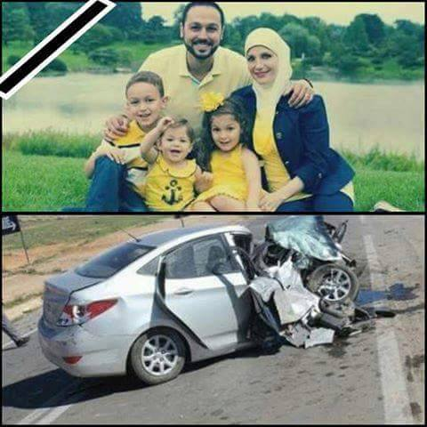 حقيقة وفاة عائلة في حادث سيارة