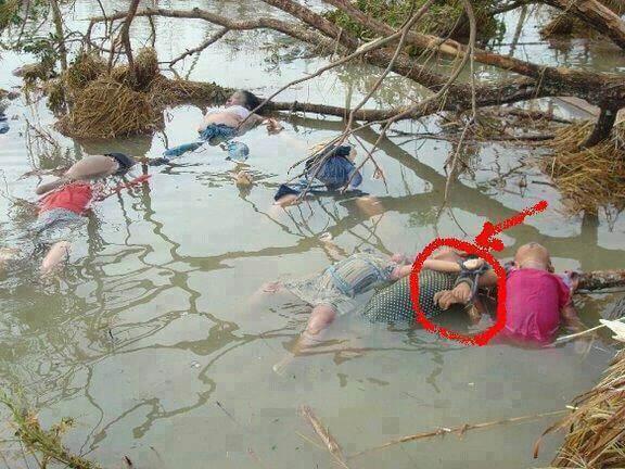 حقيقة صورة أطفال المسلمين في بورما