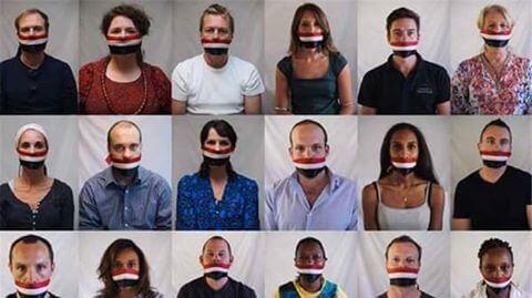 حقيقة تضامن الصحفيين الاجانب مع نقابة الصحفيين