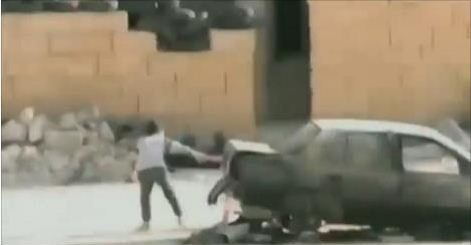 حقيقة فيديو لطفل سوري ينقذ شقيقته تحت وابل من الرصاص