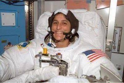 حقيقة اسلام رائدة الفضاء سونيتا ويليامز