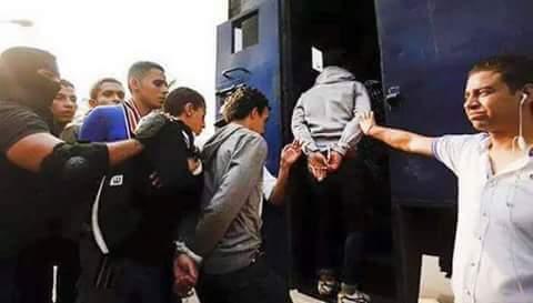 حقيقة صورة القبض على طلاب ثانوي