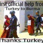 حقيقة طرد تركيا للبوذيين من اراضيها بسبب بورما
