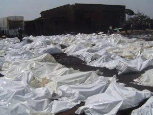 حقيقة صورة محرقة للمسيحيين في نيجيريا أو المسلمين في بورما