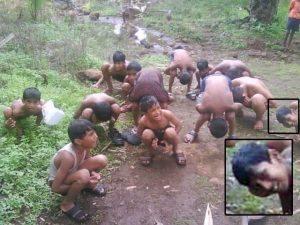 حقيقة صورة تعذيب للأطفال المسلمين في بورما