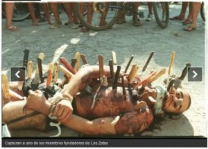 حقيقة صورة مسلم مكبل و مقتول في بورما