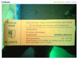 حقيقة استلام اللاجئين تذكرة مجانية لبيوت الدعارة
