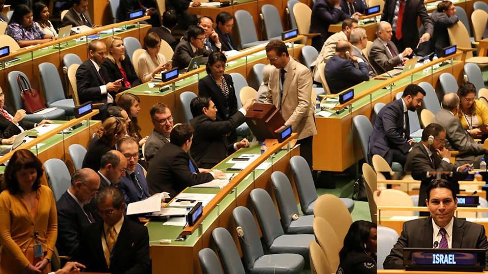 حقيقة تصويت مصر لصالح إسرائيل في الأمم المتحدة
