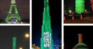 العديد من البلدان تقف تضامنا مع المملكة العربية السعودية