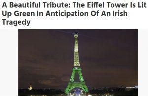 حقيقة إنارة معالم عالمية باللون الأخضر تضامناً مع السعودية