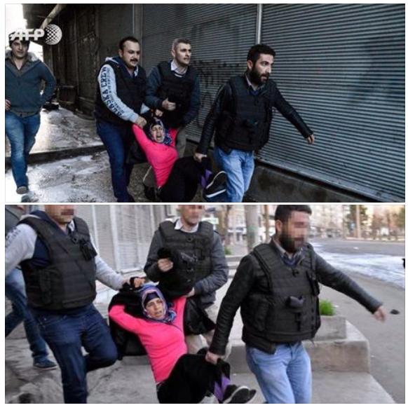 حقيقة صور القبض على صحفيين من جريدة زمان التركية