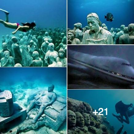 حقيقة صور اكتشافات مختلفة بالقرب من مثلث برمودا