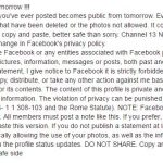 حقيقة تغير الفيسبوك سياسات خصوصيتها