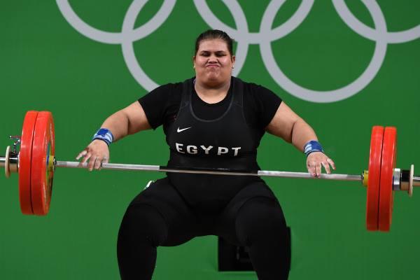 حقيقة حصول شيماء على الميدالية الفضية لرفع الأثقال