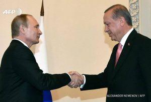 حقيقة صورة استقبال بوتين لأردوغان