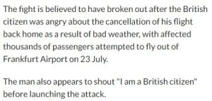 حقيقة الاشتباك في مطار ألمانيا بسبب الحجاب