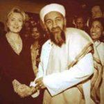 حقيقة صورة هيلاري كلينتون مع أسامة بن لادن