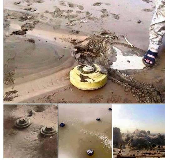حقيقة تفجير الغام في سيناء بسبب الأمطار
