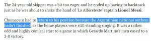 حقيقة عدم مصافحة لاعبي بوليفيا لميسي لدعمه الصهيونية