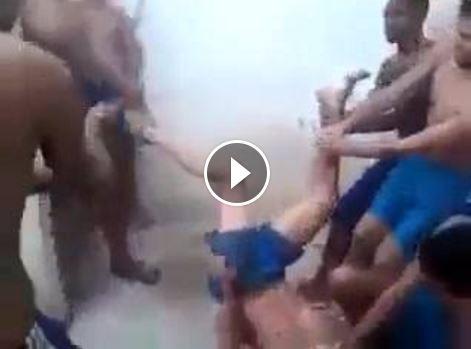 حقيقة فيديو تعذيب و كسر ساق مسلم في بورما