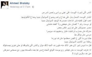 حقيقة بوست بيتنبأ بأحداث مصر