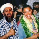 حقيقة صورة أوباما مع بن لادن