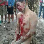 حقيقة قتل وإعدام شخص في بورما