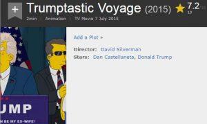 حقيقة توقع مسلسل The Simpsons بفوز دونالد ترامب