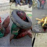 حقيقة حرق طفل مسلم من أفريقيا الوسطى
