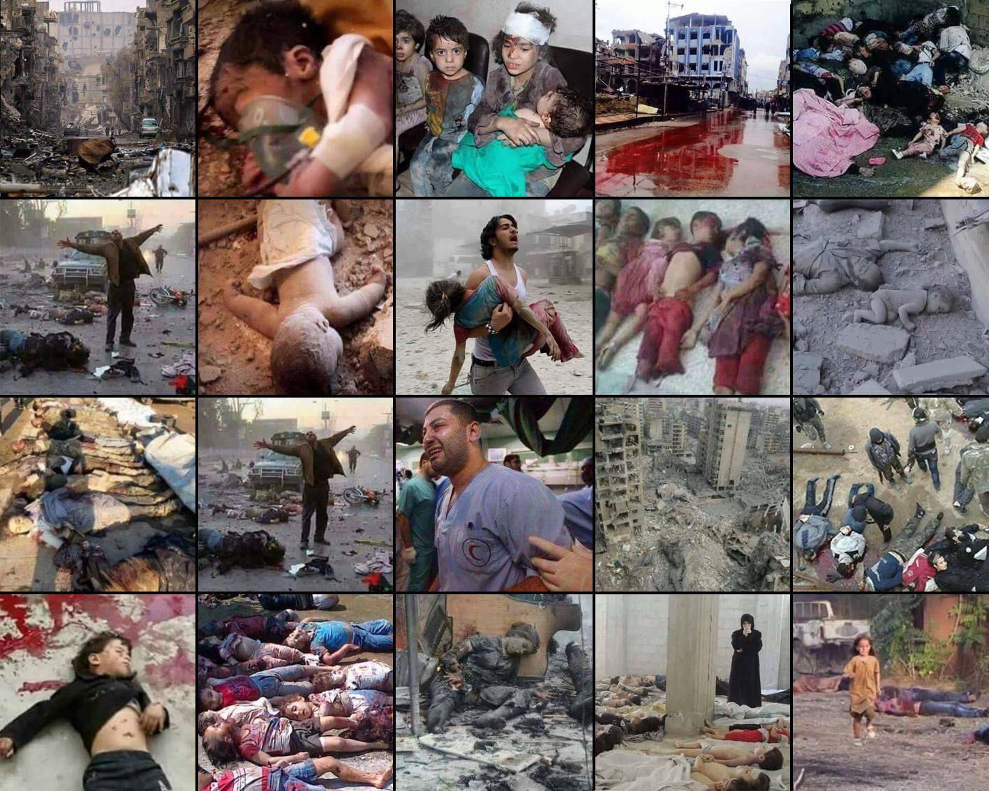 حقيقة صور متداولة من أحداث حلب